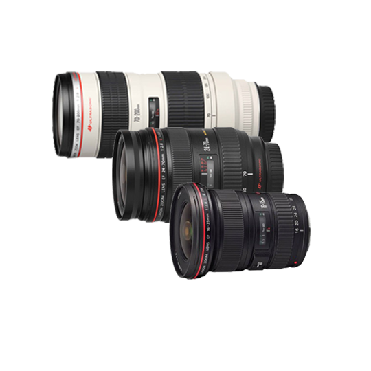 CANON ZOOM LENS SET