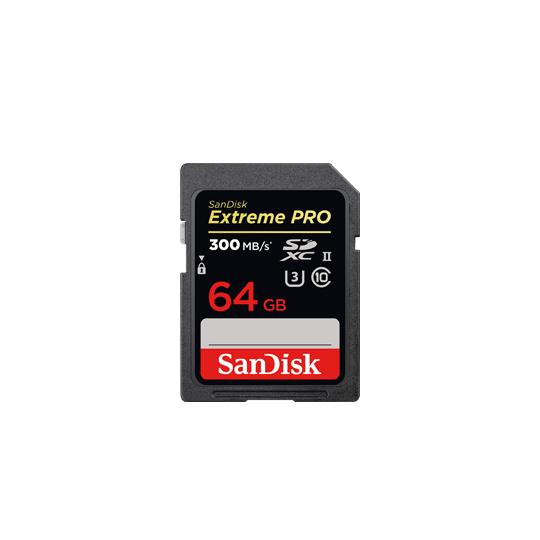 Sandisk SD 64GB (4K)