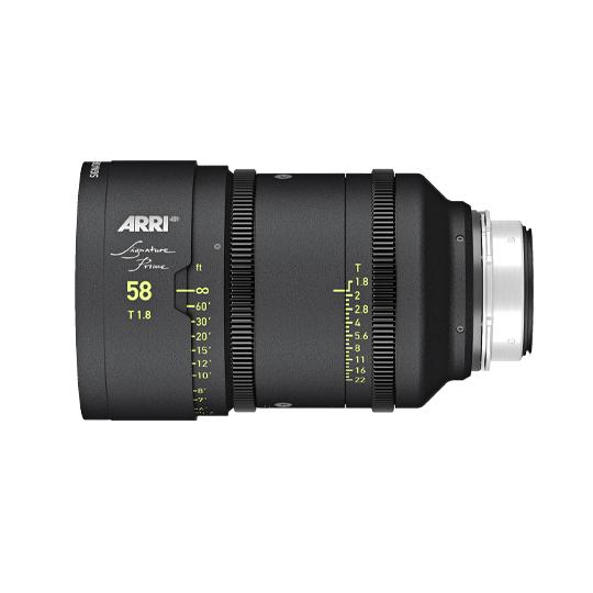 Signature Prime 58mm T1.8