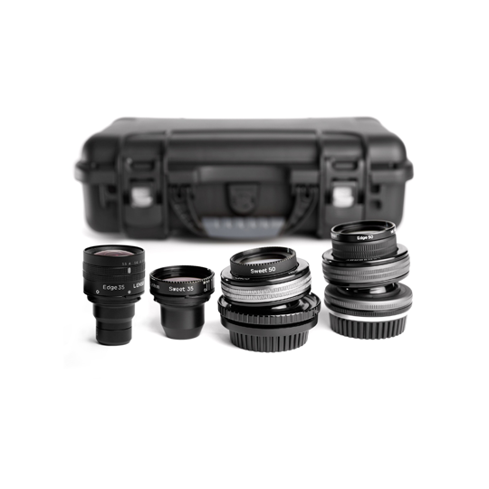 Lensbaby Movie Makers kit III