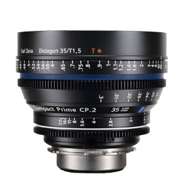 CARL ZEISS Compact Prime CP.2 35mm/T2.1 (PL)