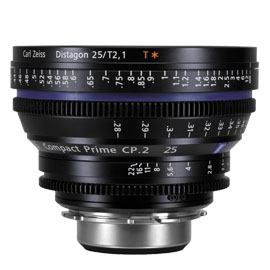 CARL ZEISS Compact Prime CP.2 25mm/T2.1 (PL)